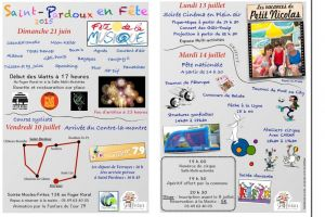 Animations estivales Saint Pardoux